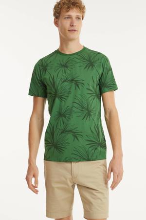 T-shirt TS PLANTED van biologisch katoen vineyard green