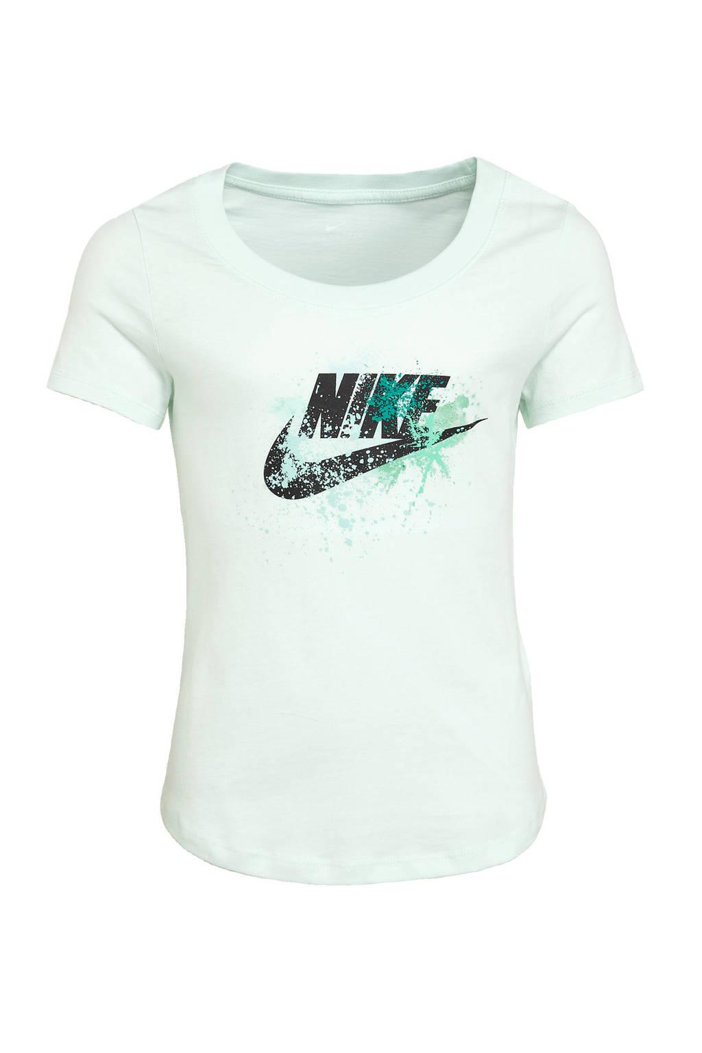 Nike T-shirt lichtgroen, Lichtgroen