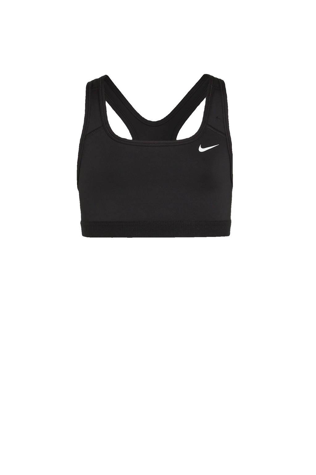 Nike crop top zwart, Zwart