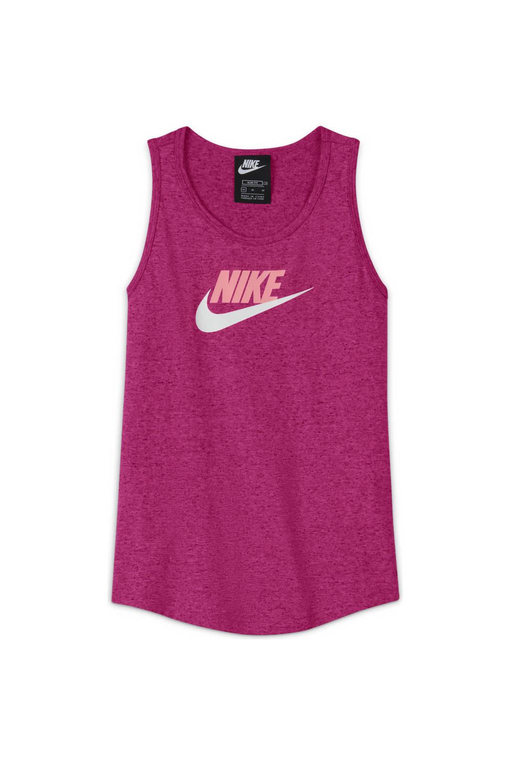 Nike mouwloze top roze, Roze