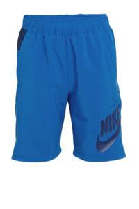 Nike short blauw, Blauw