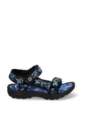 Sky Sport  sandalen camouflageprint blauw