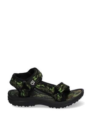 Sky Sport  sandalen camouflageprint groen