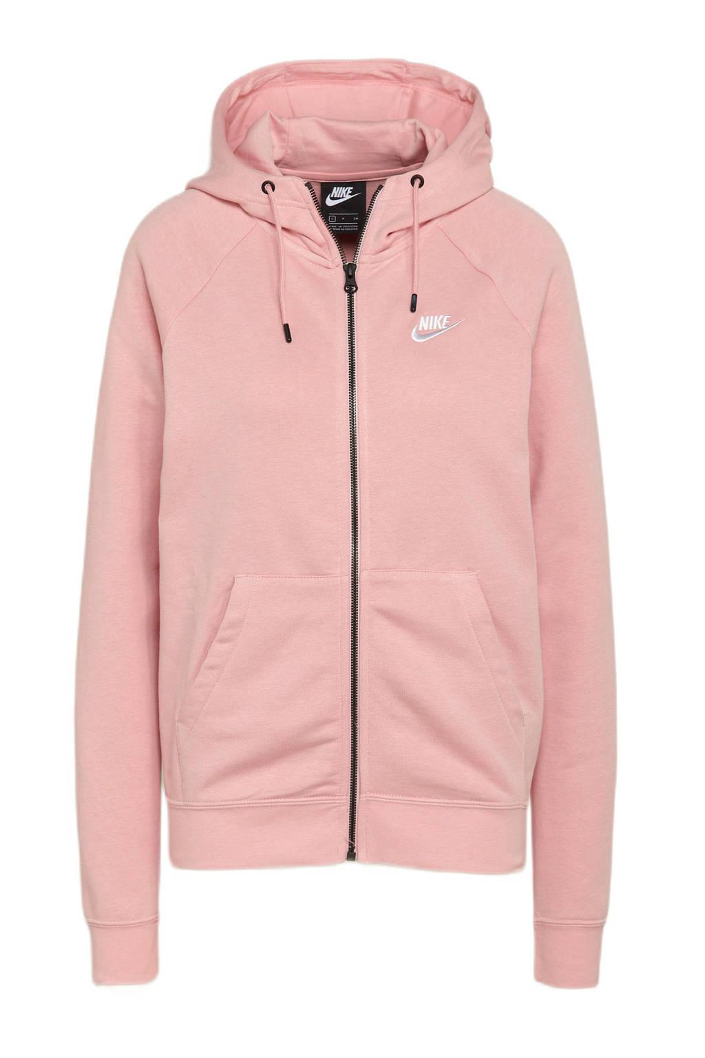 Nike sweatvest roze, Roze