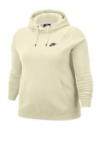 Nike Plus Size hoodie beige, Beige