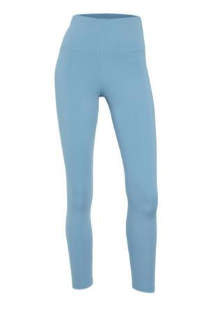 Plus Size 7/8 sportlegging blauw
