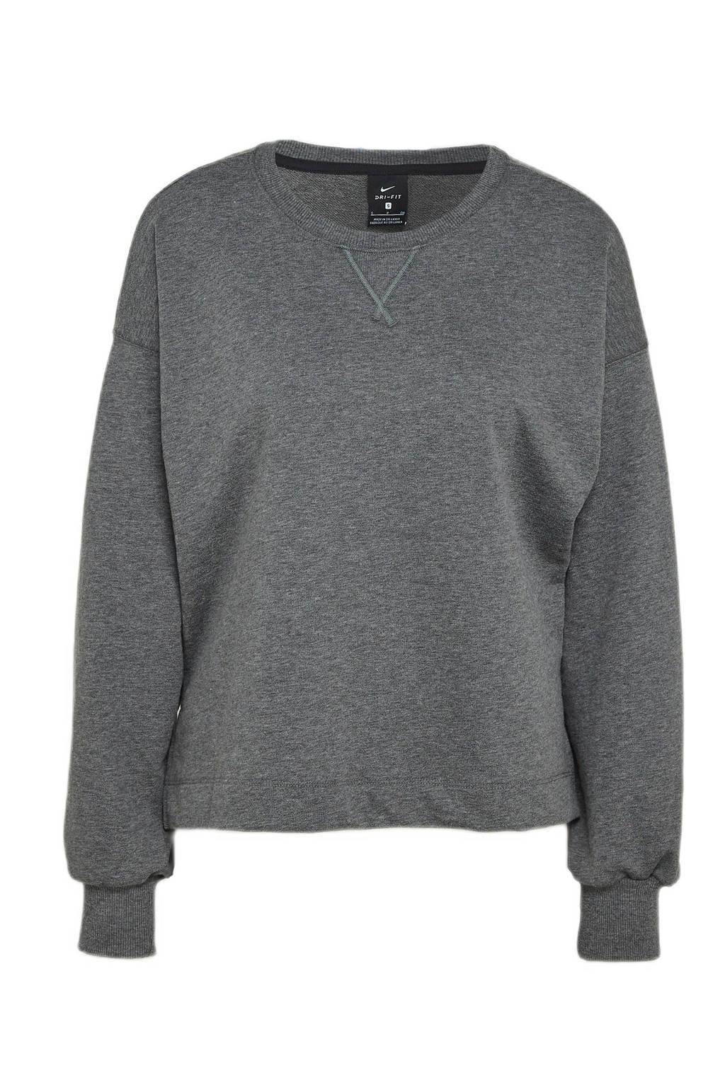 Nike sportsweater donkergrijs, Donkergrijs