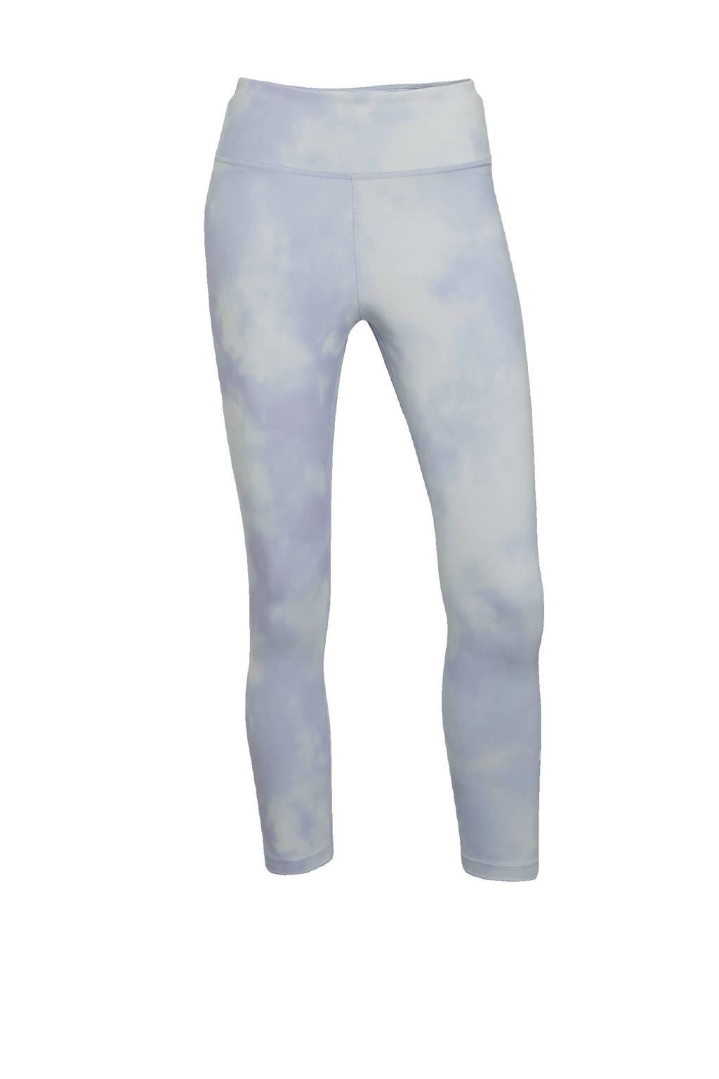 Nike sportlegging wit/paars, Wit/paars