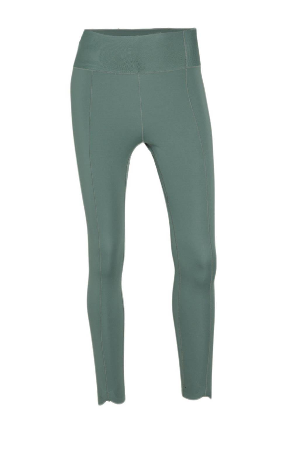 Nike 7/8 sportlegging groen, Groen
