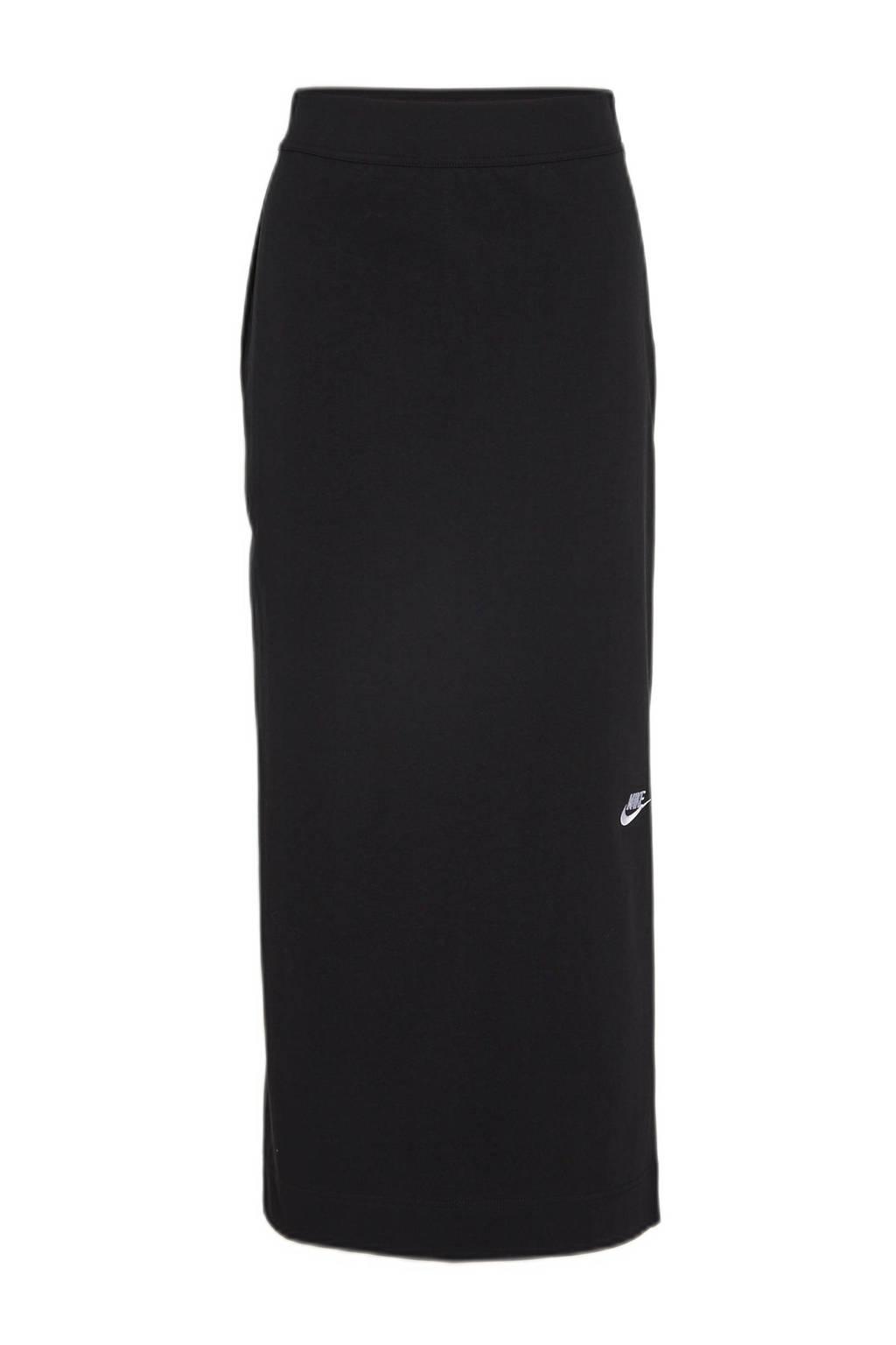 Nike maxi rok zwart, Zwart