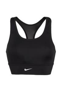 Nike level 3 sportbh zwart, Zwart