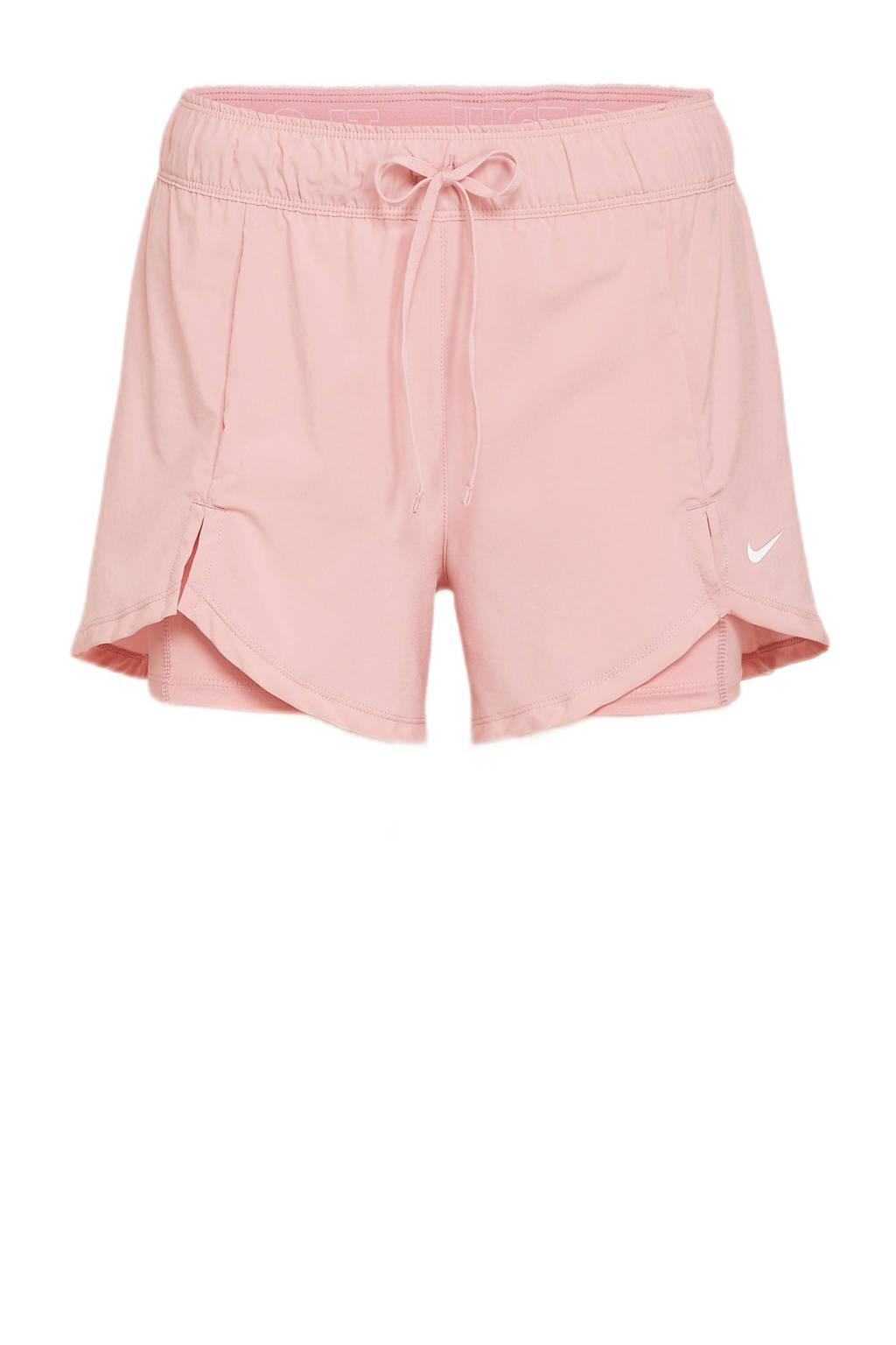 Nike sportshort roze, Roze