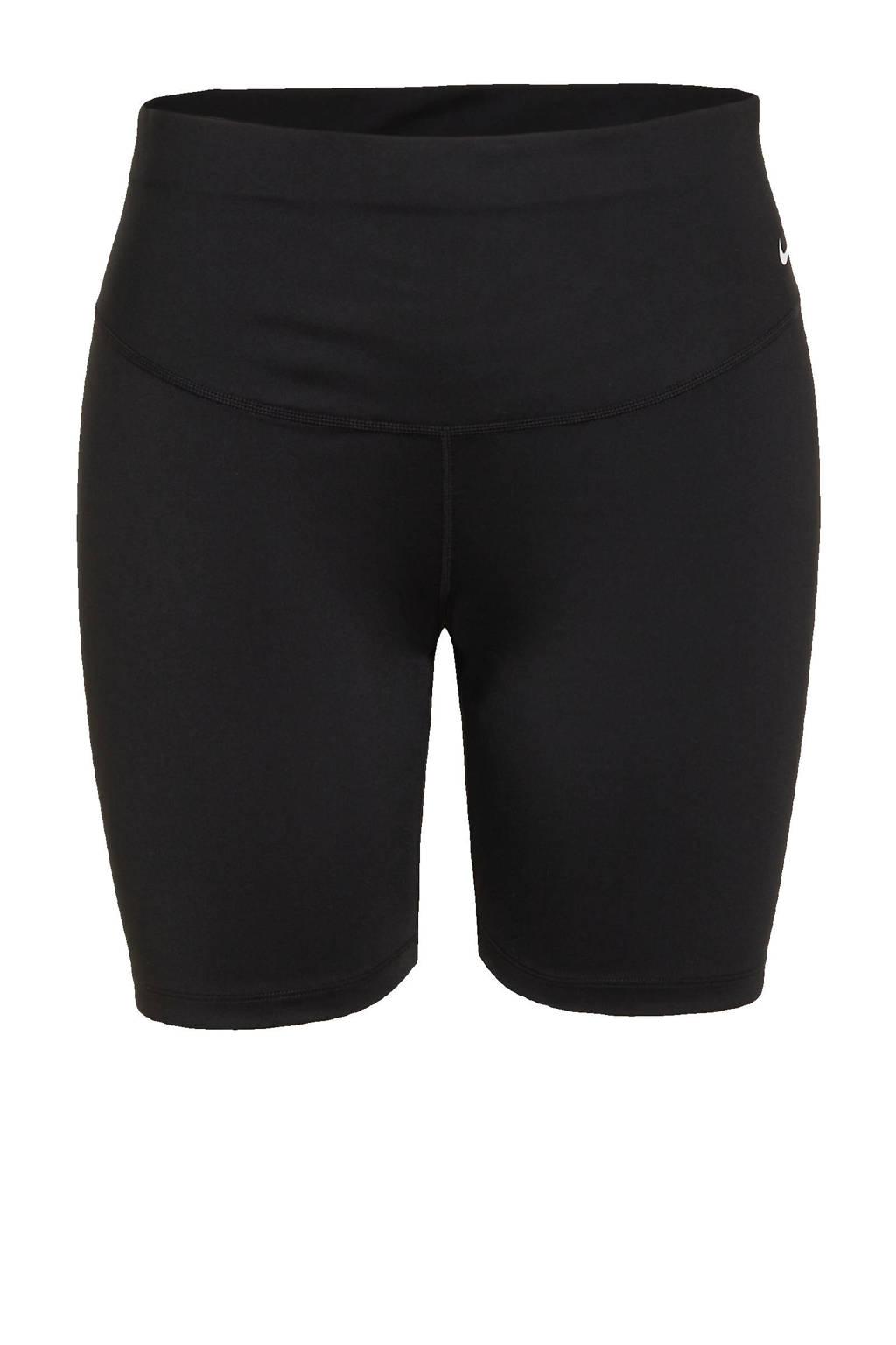 Nike Plus Size sportshort zwart, Zwart