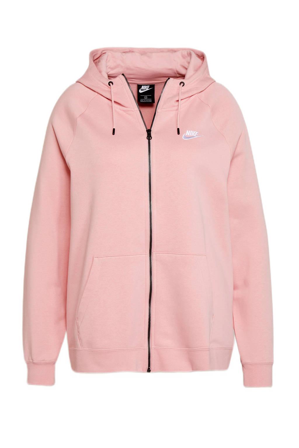 Nike Plus Size sweatvest roze, Roze