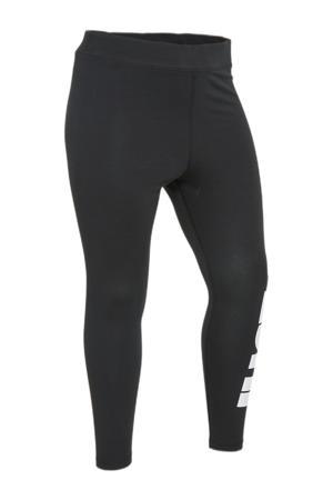 Plus Size legging zwart/wit