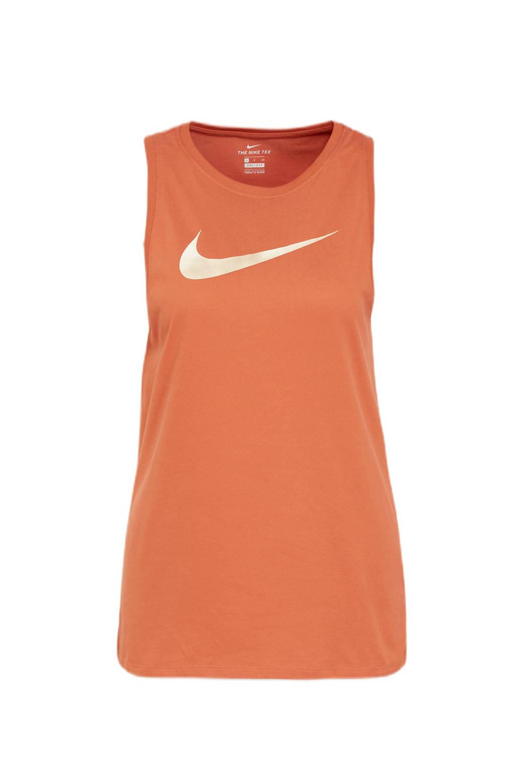 Nike sporttop oranje, Oranje