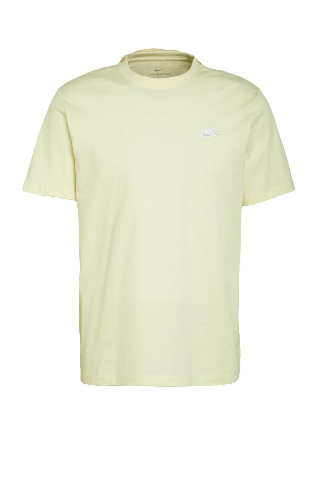 Nike T-shirt geel, Geel