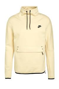 Nike sweater lichtgeel/zwart, Lichtgeel/zwart