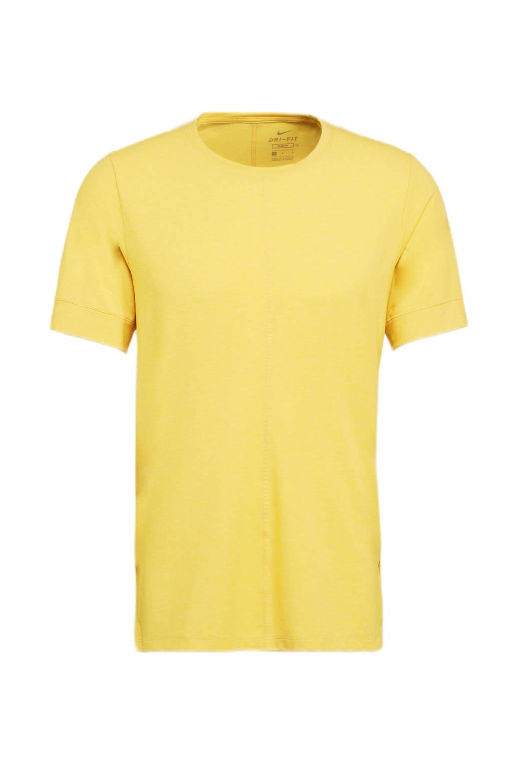 Nike   sport T-shirt geel, Geel