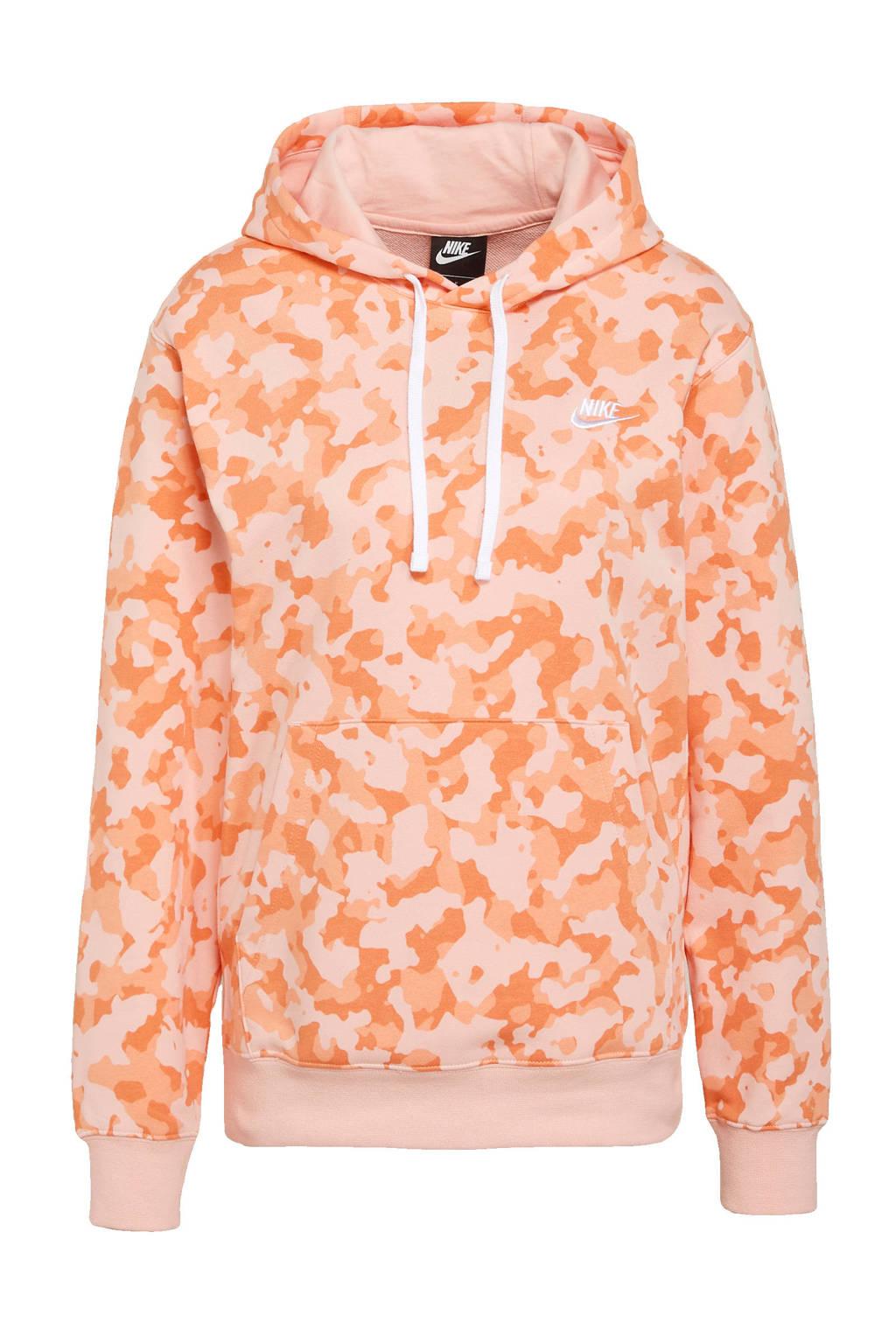 Nike hoodie oranje, Oranje