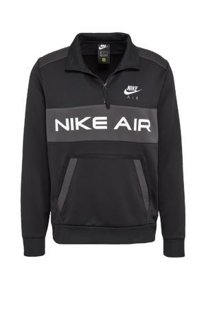 sweater zwart/grijs