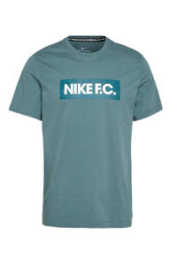 Nike T-shirt groen/wit, Groen/wit
