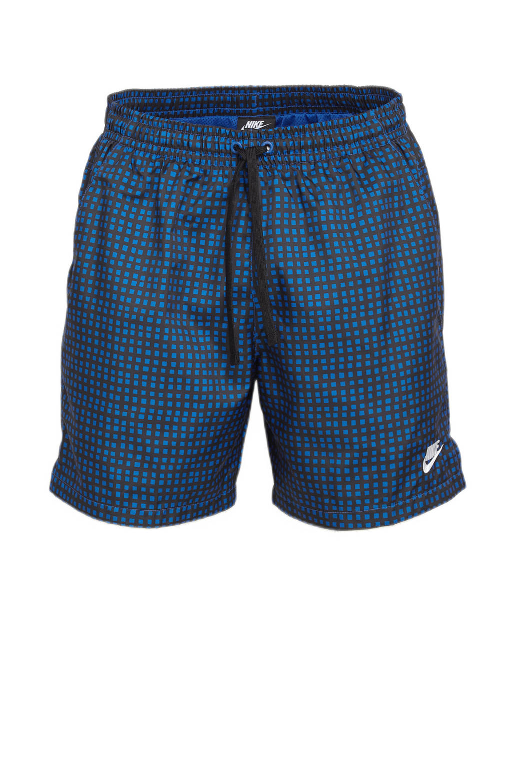 Nike short blauw/zwart, Blauw/zwart