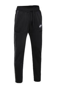 Nike trainingsbroek zwart/wit, Zwart