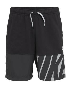 sweatshort zwart/grijs