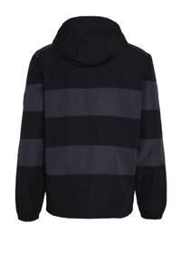 Nike anorak zwart/grijs/wit, Zwart/grijs/wit