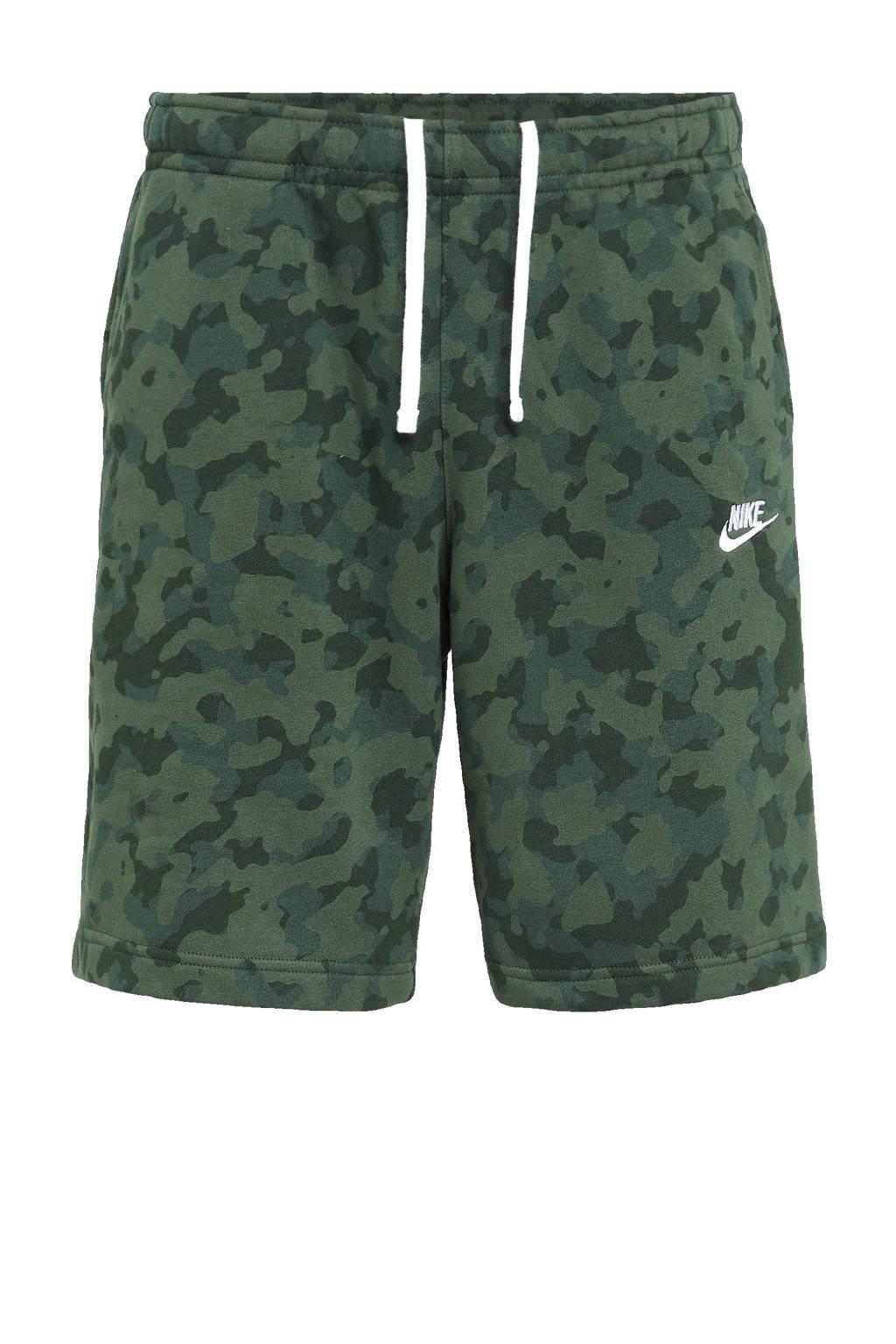 Nike sweatshort groen, Groen