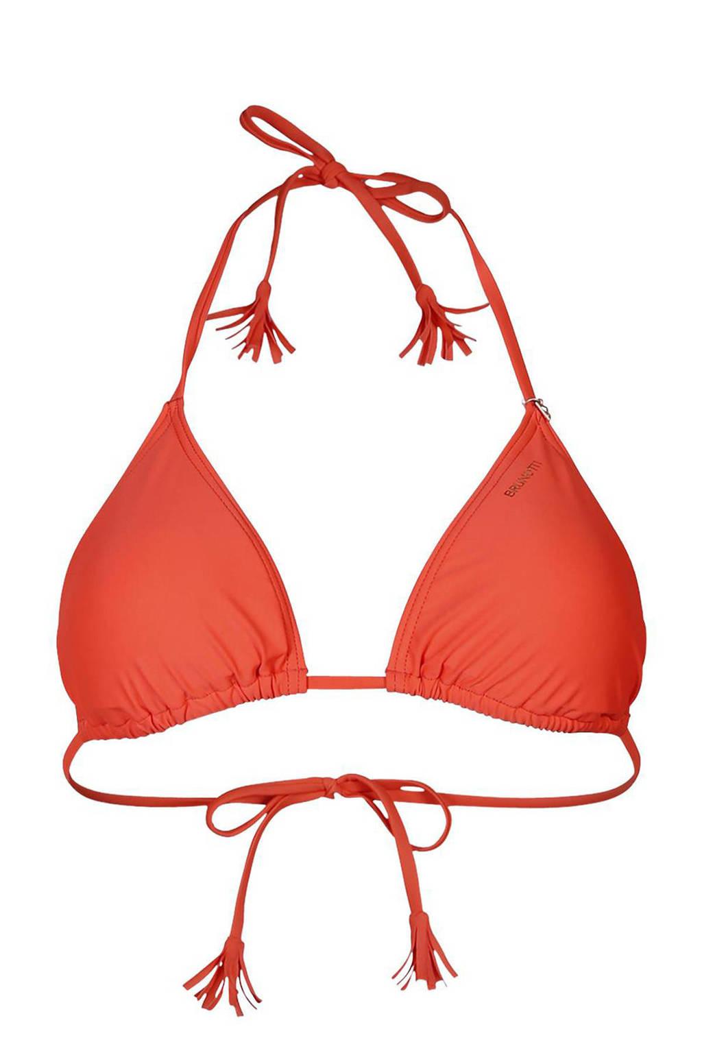 Brunotti triangel bikinitop Noralee rood, Rood