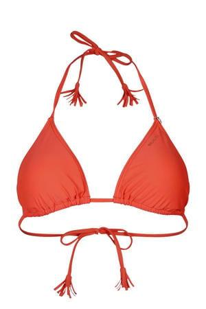 triangel bikinitop Noralee rood
