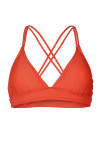 Brunotti triangel bikinitop Delphinia rood, Rood