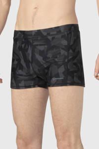 Brunotti zwemboxer Saabir met camouflage print grijs, Grijs
