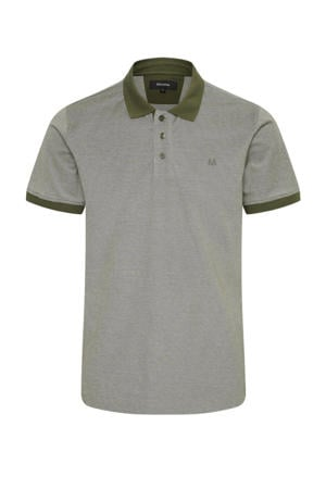 regular fit polo MApoleo DS Tech olijfgroen