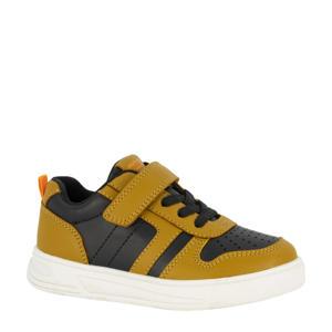 sneakers bruin/zwart
