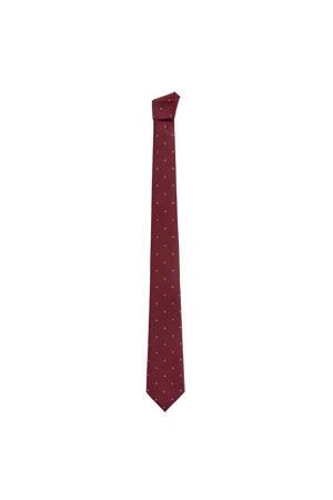 stropdas donkerrood