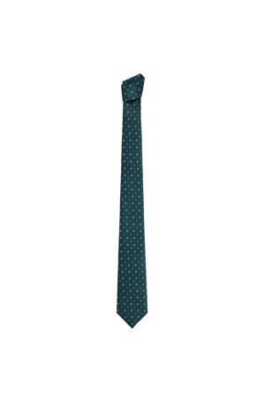 stropdas donkergroen