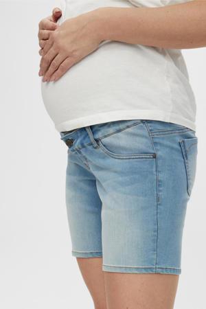 low waist jeans short Fifty light denim