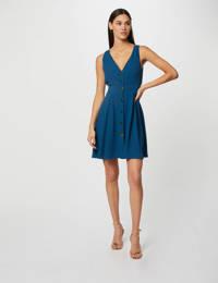 Morgan A-lijn jurk blauw, Blauw