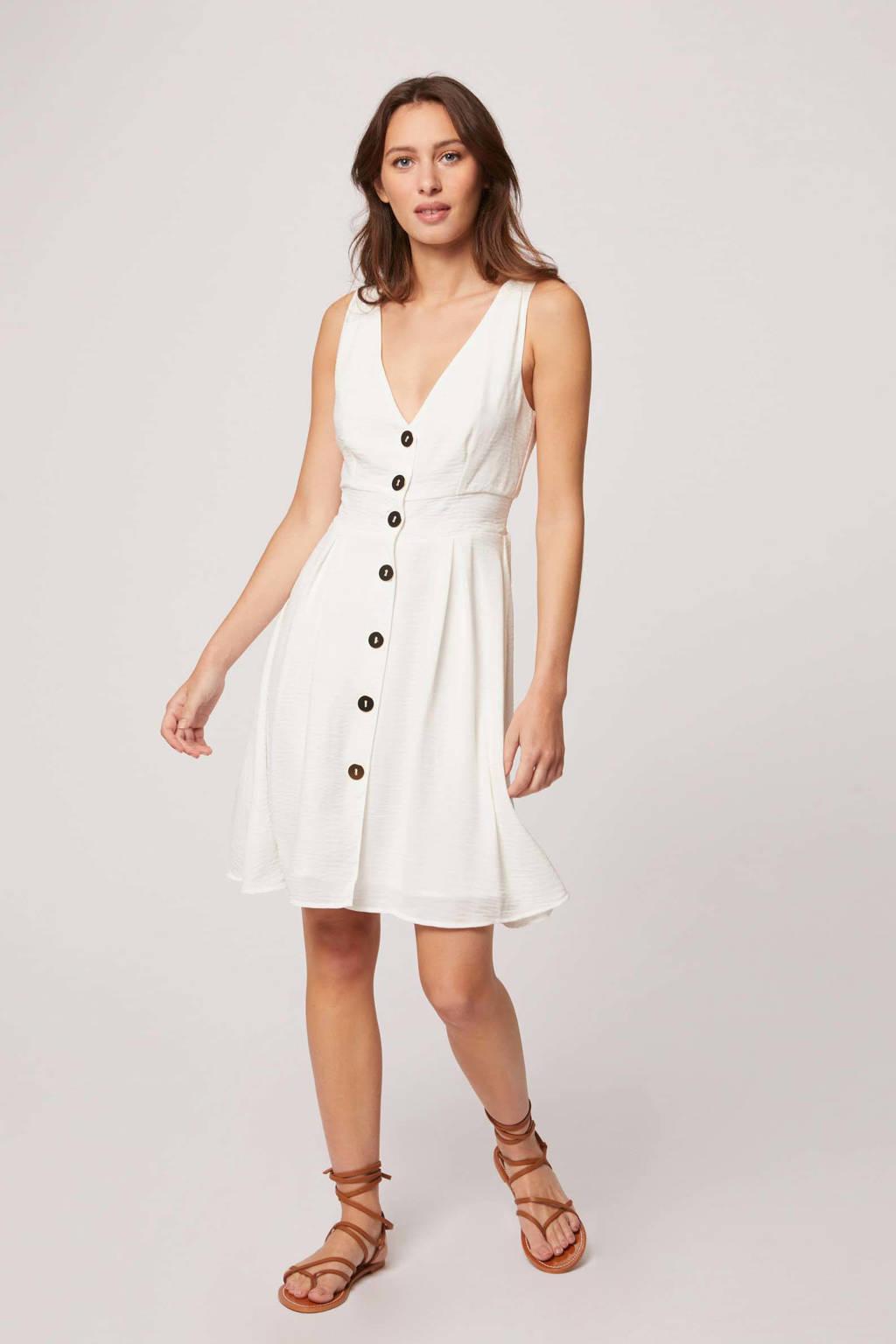 Morgan A-lijn jurk ecru, Ecru