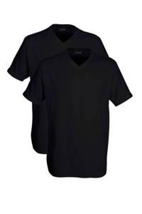 Ceceba +size T-shirt (set van 2) zwart, Zwart