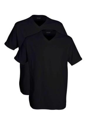 +size T-shirt zwart