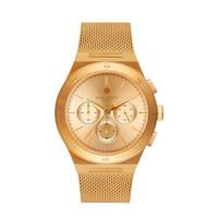 Sem Lewis chrono horloge Moorgate SL1100043 goudkleurig, Goudkleurig
