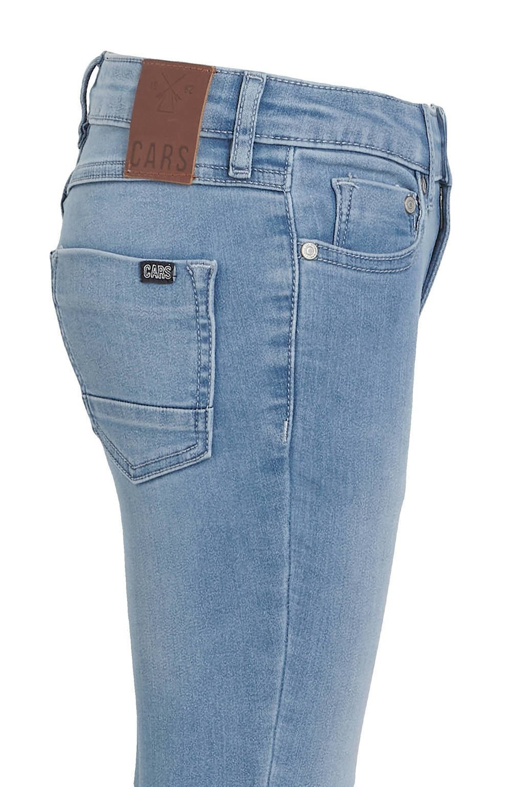 Cars high waist skinny jeans Eliza bleached used, Bleached used