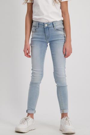 high waist skinny jeans Eliza bleached used