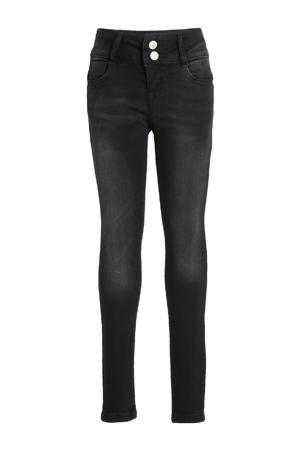 high waist skinny jeans Amazing black used