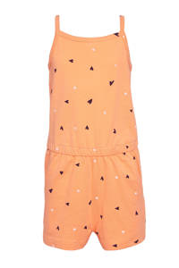 NAME IT MINI jumpsuit Vigga van biologisch katoen oranje, Oranje