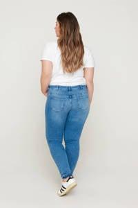 Zizzi slim fit jeans JCLARA, SANNA JEANS blauw, Blauw
